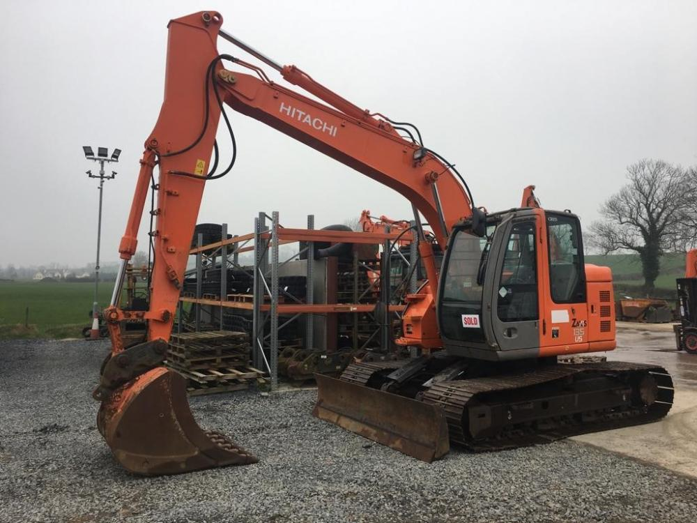 Detail photo of 2008 Hitachi ZX135US from Construction Equipment Guide