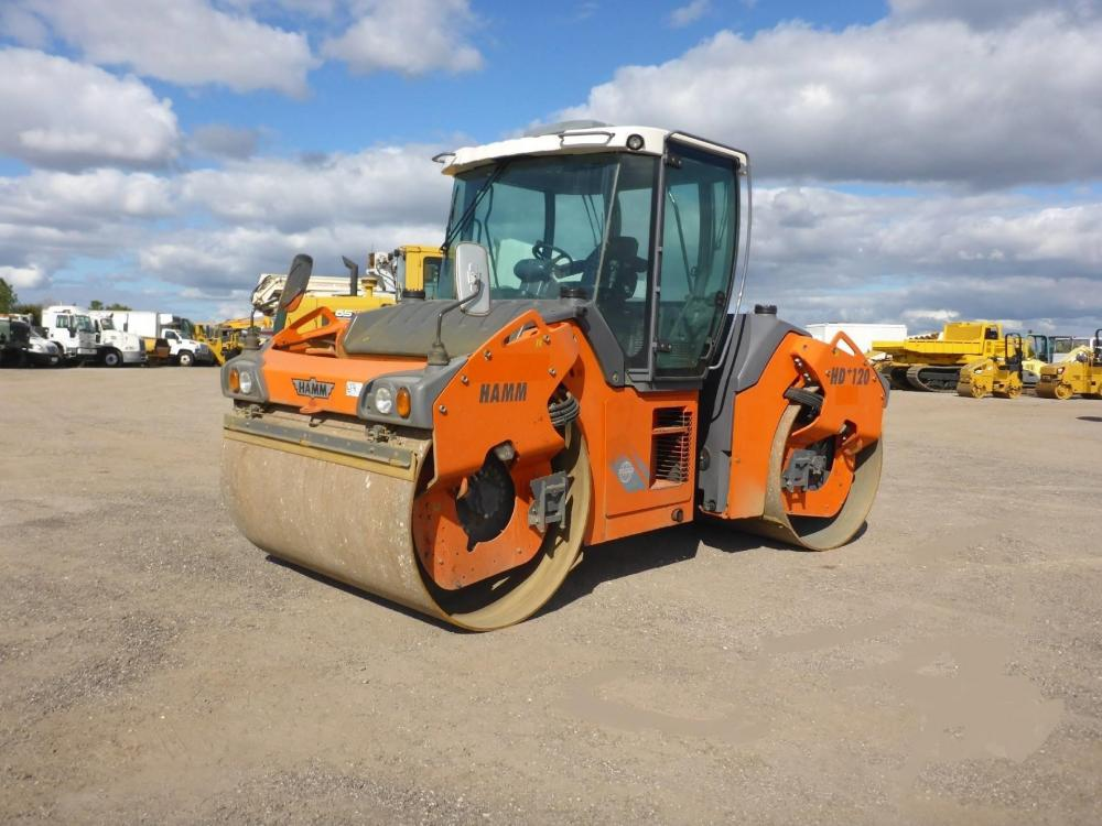 Detail photo of 2011 Hamm HD 120VV from Construction Equipment Guide