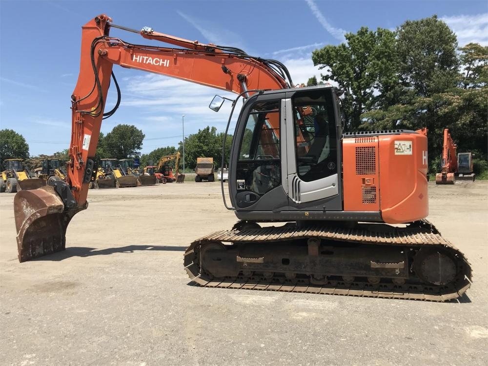 Detail photo of 2010 Hitachi ZX135US-3 from Construction Equipment Guide