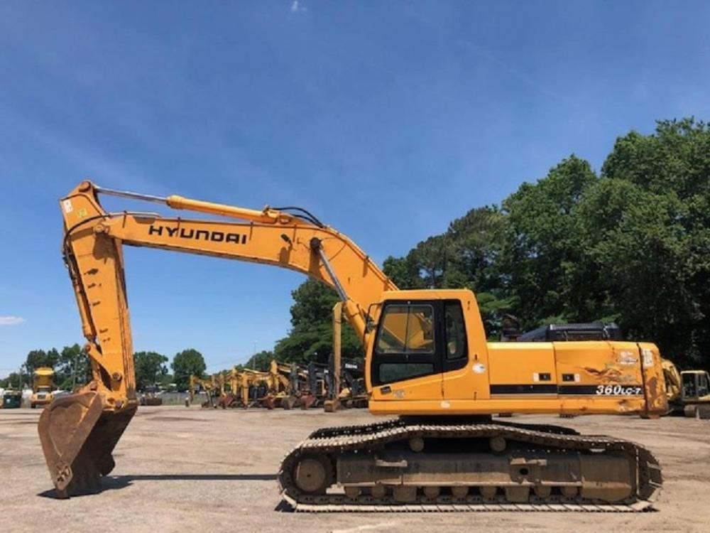 Detail photo of 2005 Hyundai ROBEX 360 LC-7 from Construction Equipment Guide