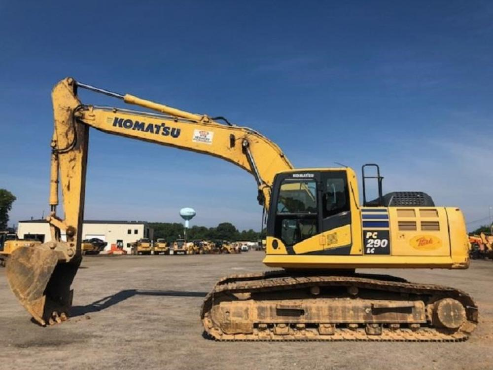 Detail photo of 2015 Komatsu PC290LC-10 from Construction Equipment Guide