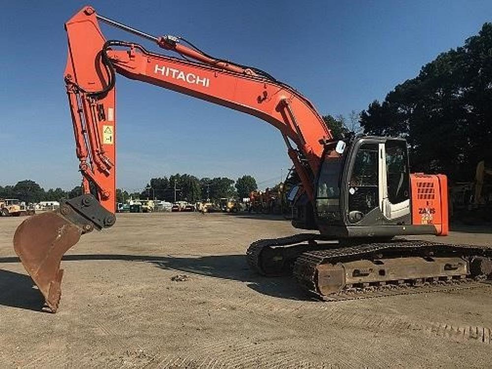 Detail photo of 2011 Hitachi ZX225USLC-3 from Construction Equipment Guide