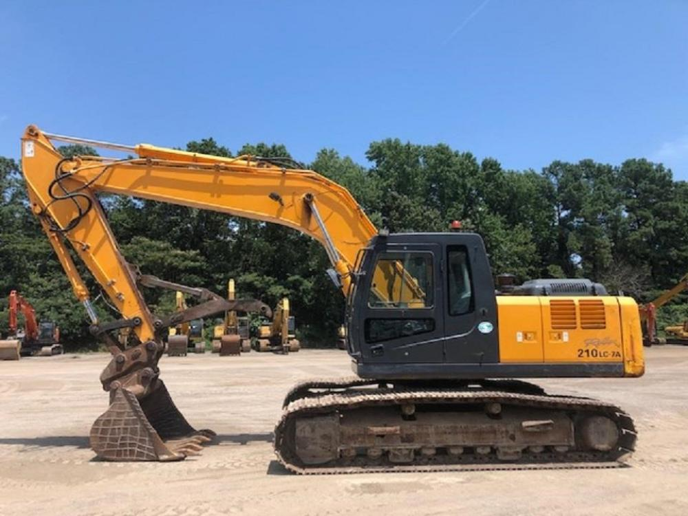 Detail photo of 2008 Hyundai ROBEX 210 LC-7A from Construction Equipment Guide