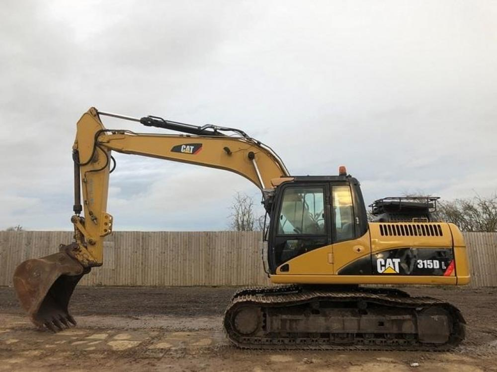 Detail photo of 2008 Caterpillar 315DL from Construction Equipment Guide
