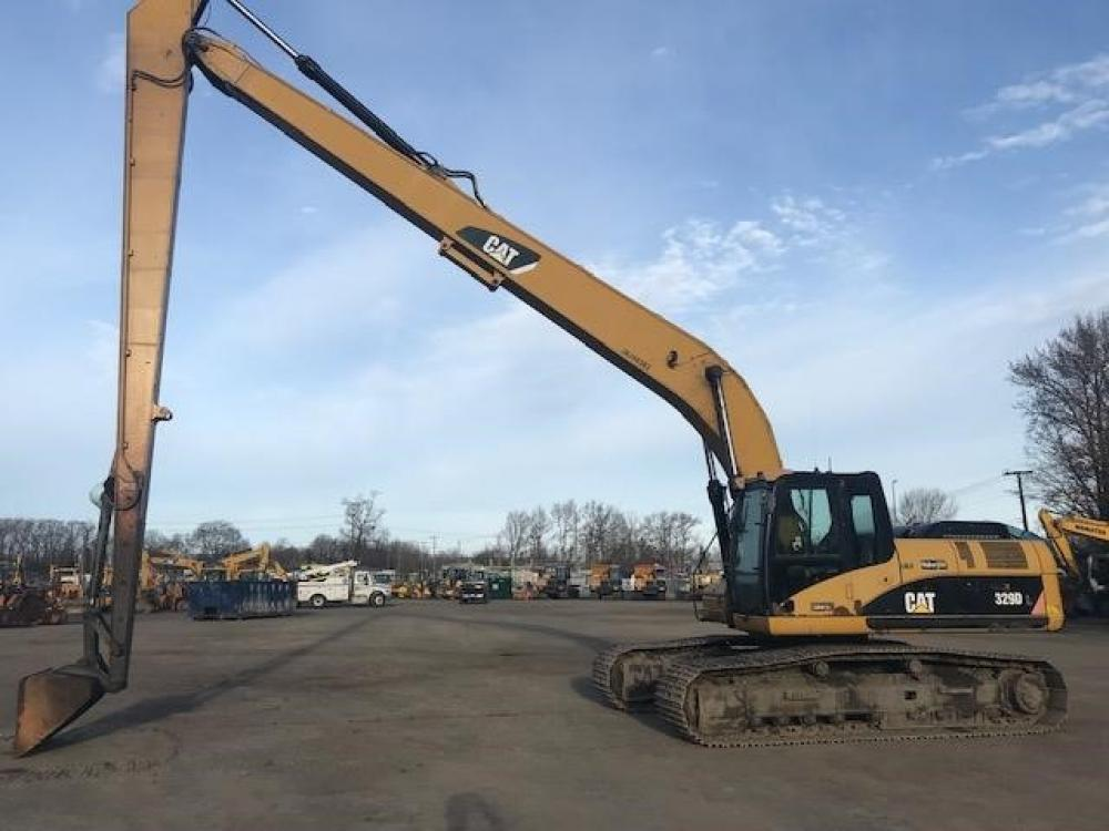 Detail photo of 2009 Caterpillar 329D from Construction Equipment Guide