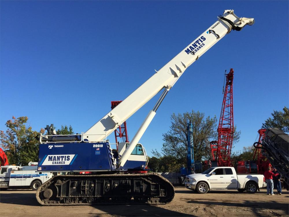 Detail photo of 2013 Mantis 20010 from Construction Equipment Guide