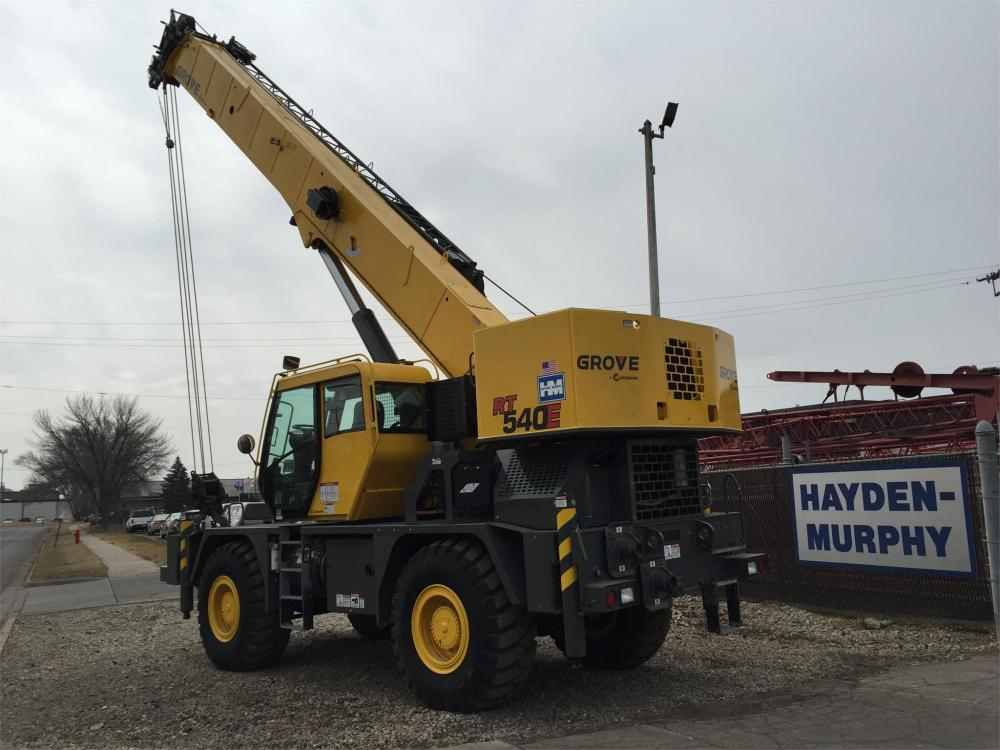 Detail photo of 2013 Grove RT540E from Construction Equipment Guide