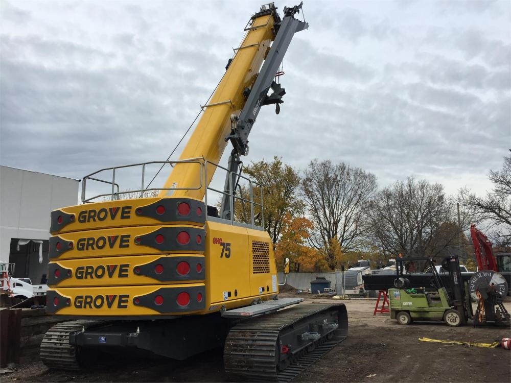 Detail photo of 2015 Grove GHC75 from Construction Equipment Guide