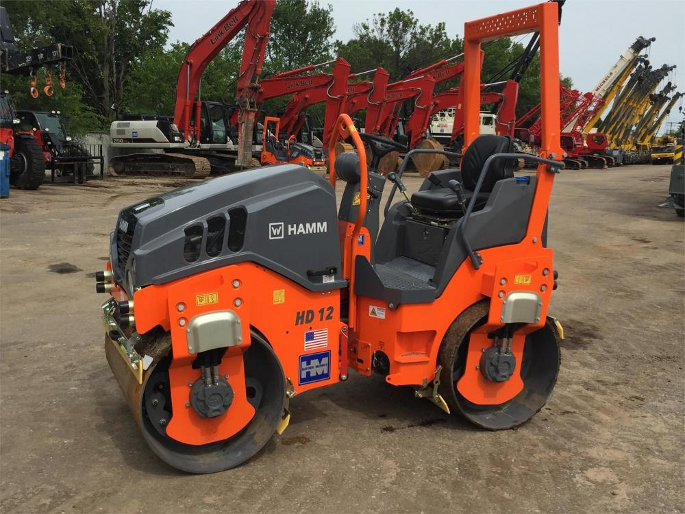 Detail photo of 2016 Hamm HD 12VV from Construction Equipment Guide