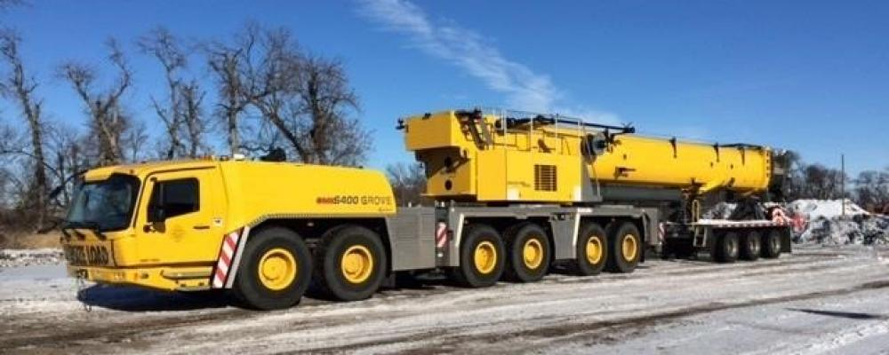 Detail photo of 2014 Grove GMK6400 from Construction Equipment Guide