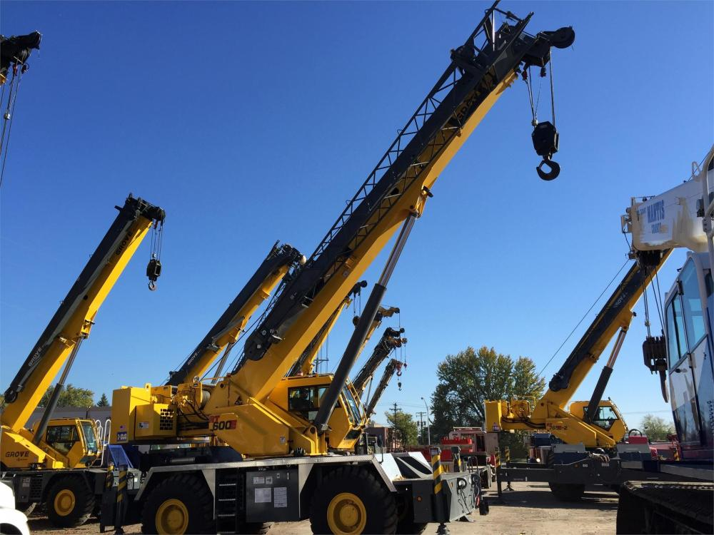 Detail photo of 2013 Grove RT650E from Construction Equipment Guide