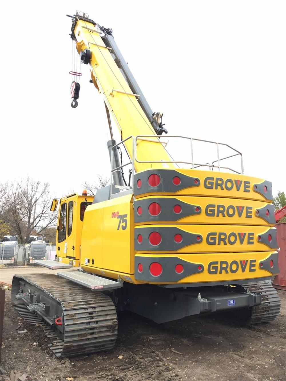 Detail photo of 2016 Grove GHC75 from Construction Equipment Guide