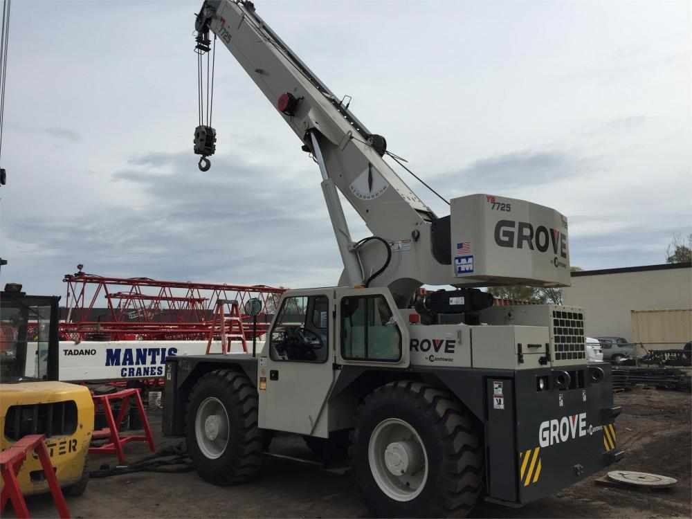 Detail photo of 2013 Grove YB7725 from Construction Equipment Guide