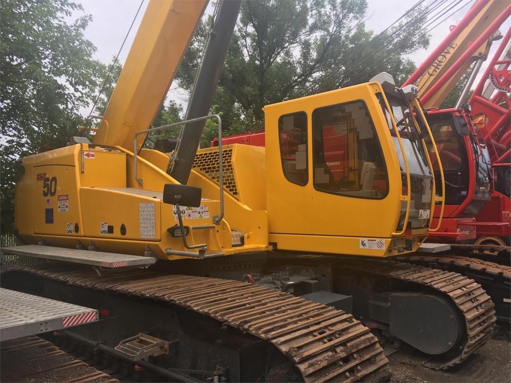 Detail photo of 2015 Grove GHC50 from Construction Equipment Guide