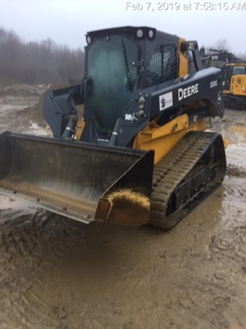 Detail photo of 2017 John Deere 333G from Construction Equipment Guide