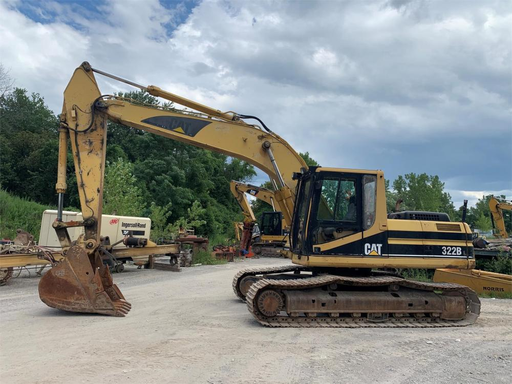 Detail photo of 2001 Caterpillar 322BL from Construction Equipment Guide