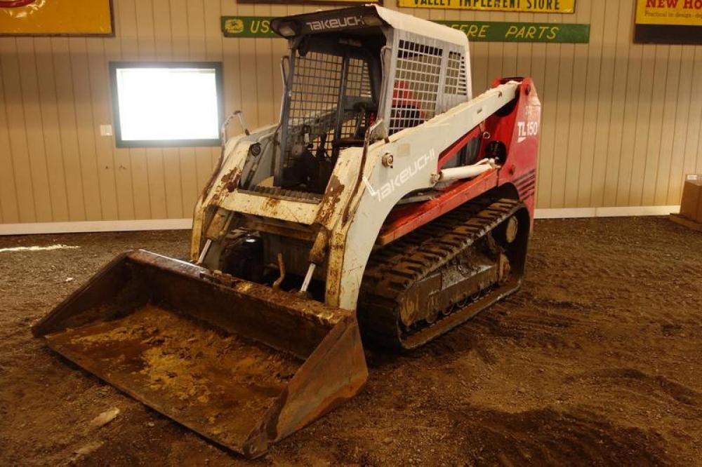 Detail photo of  Takeuchi TL150 from Construction Equipment Guide