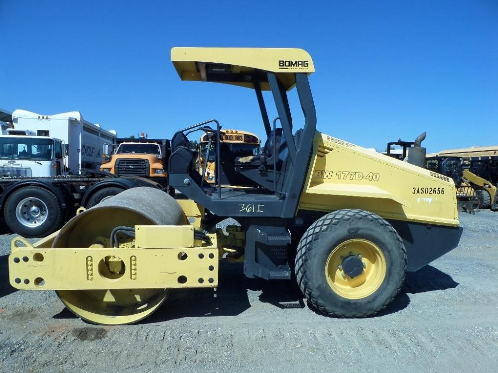 Detail photo of 2008 Bomag BW 177 D from Construction Equipment Guide
