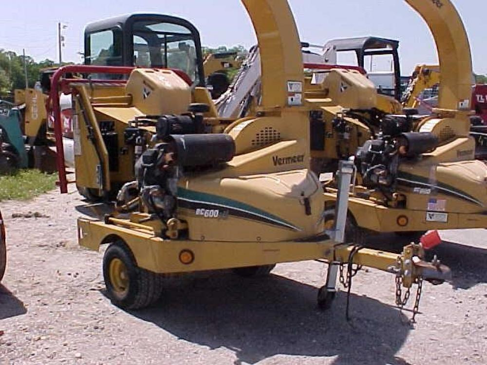 Detail photo of 2008 Vermeer BC600XL from Construction Equipment Guide