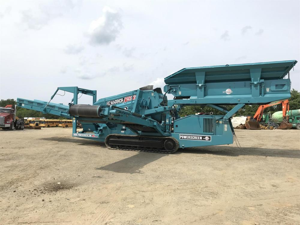 Detail photo of 2004 Powerscreen WARRIOR 1400 from Construction Equipment Guide