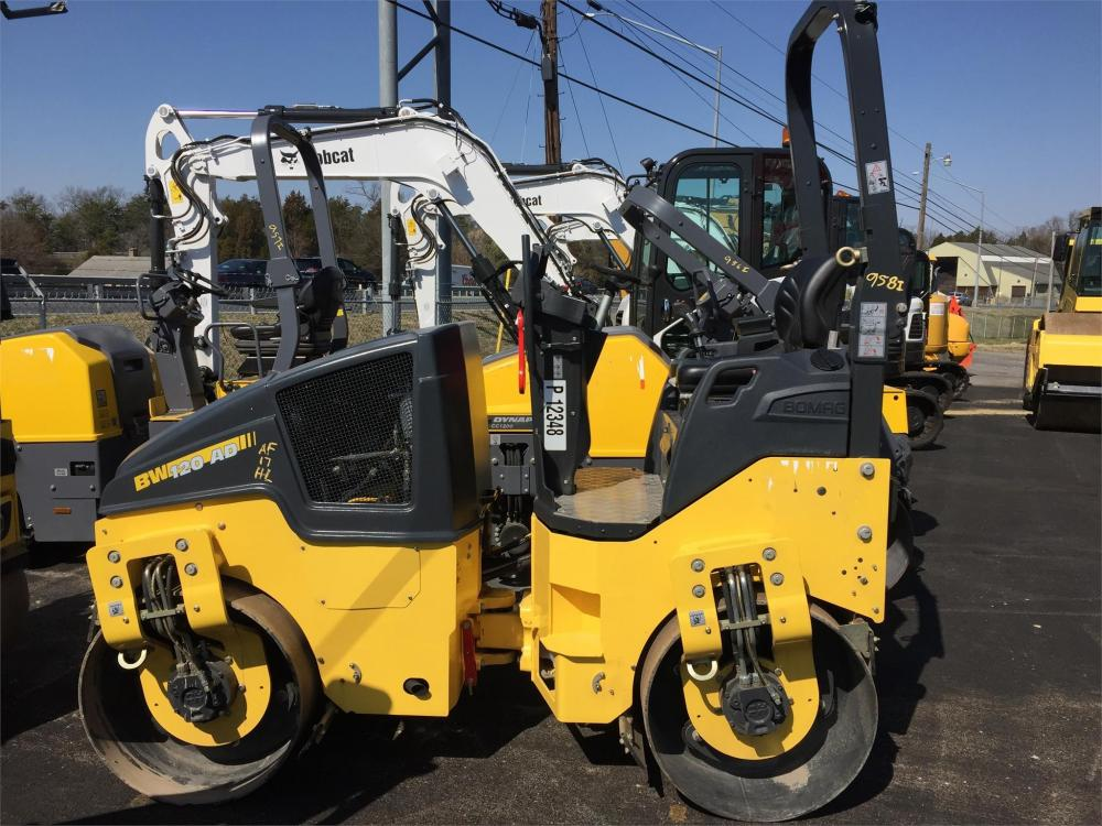 Detail photo of 2016 Bomag BW 120 AD-5 from Construction Equipment Guide