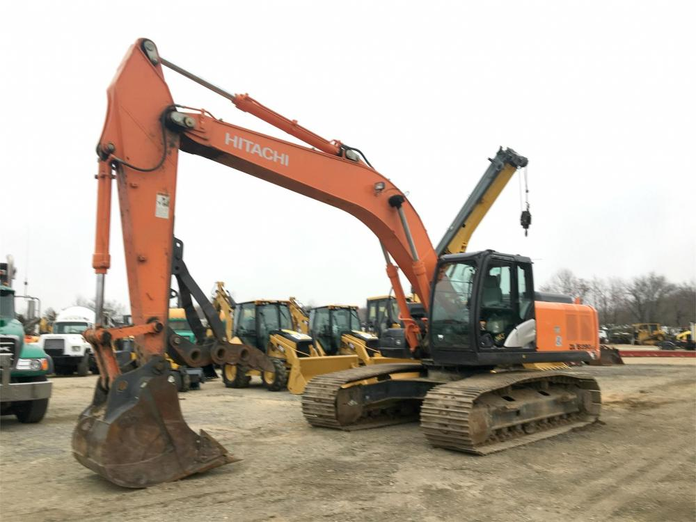 Detail photo of 2014 Hitachi ZX290LC-5N from Construction Equipment Guide