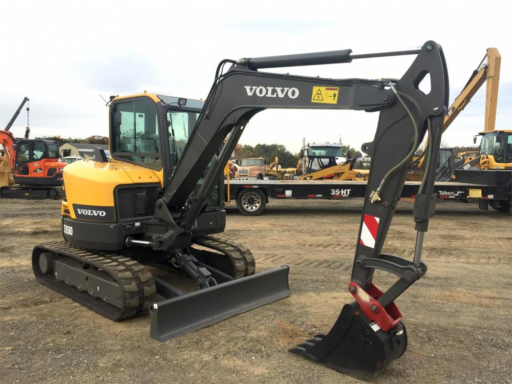 Detail photo of 2016 Volvo ECR58D from Construction Equipment Guide