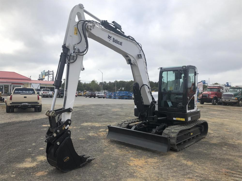 Detail photo of 2019 Bobcat E85 from Construction Equipment Guide