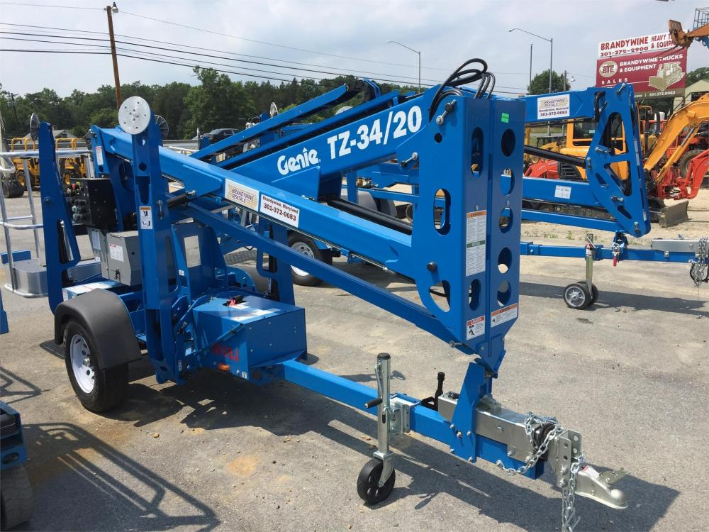 Detail photo of 2017 Genie TZ-34/20 from Construction Equipment Guide