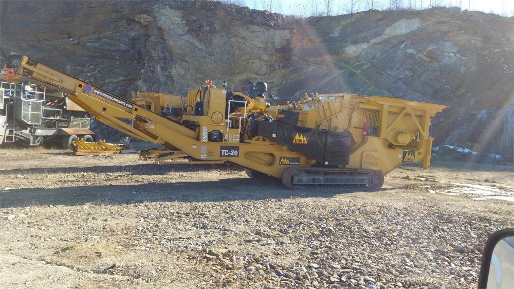Detail photo of 2015 IROCK TC-20 from Construction Equipment Guide