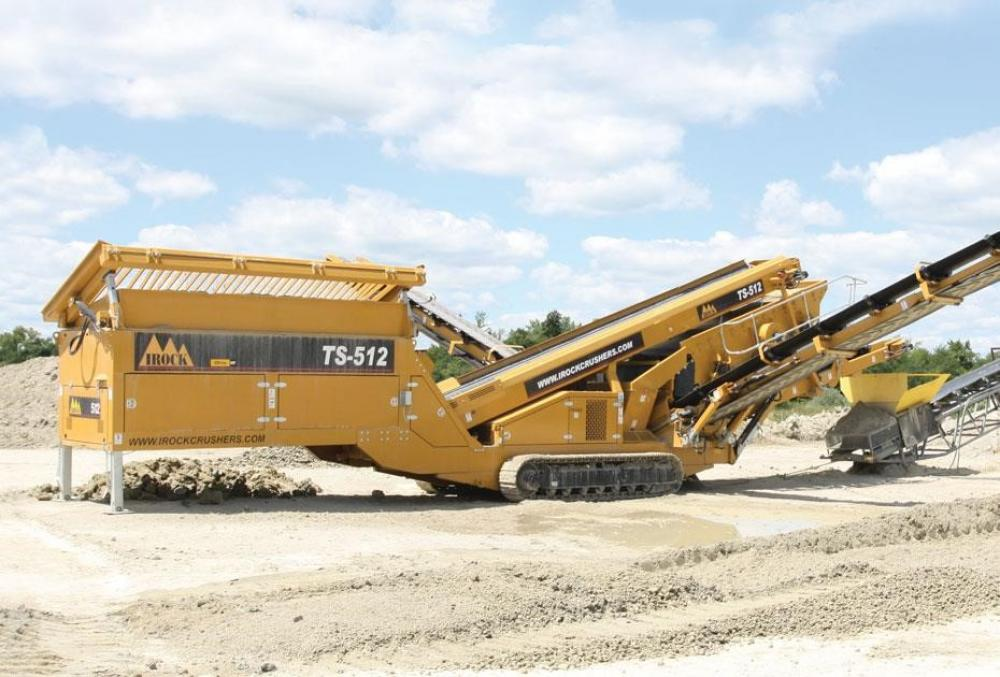 Detail photo of 2014 IROCK TS-512 from Construction Equipment Guide