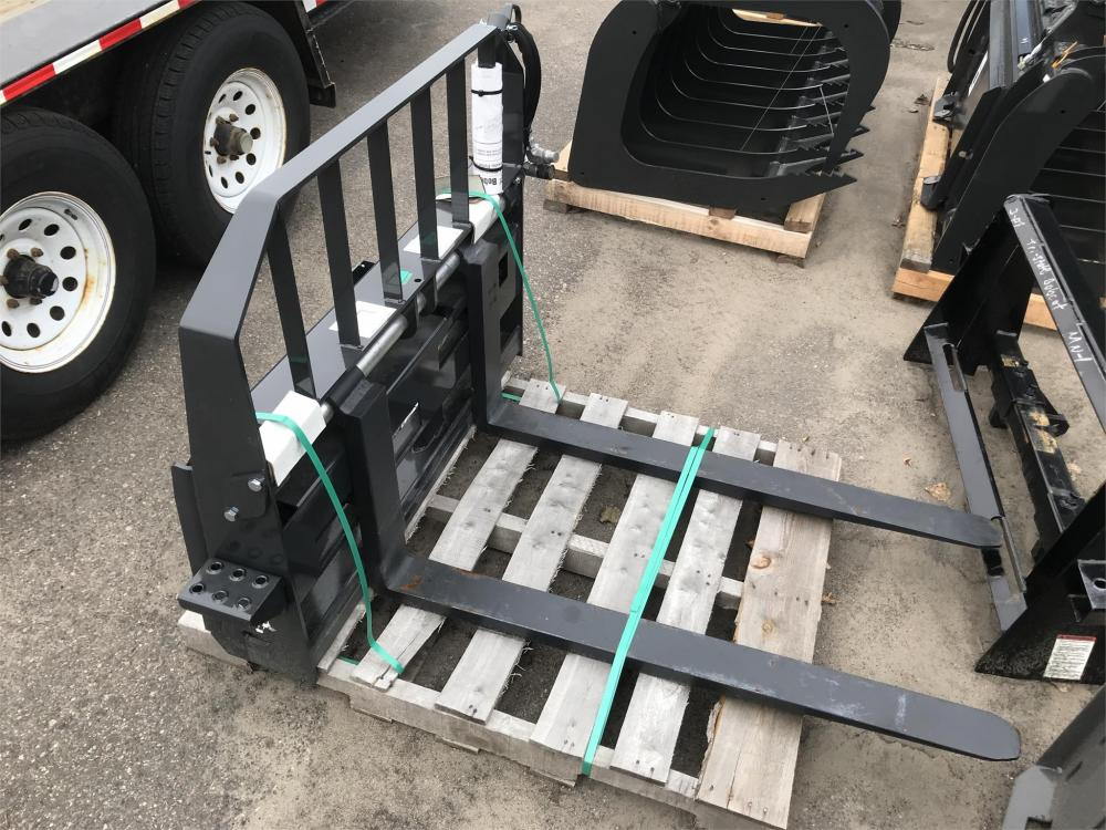 Detail photo of 2019 Bobcat 48IN. HYDRAULIC PALLET FORKS from Construction Equipment Guide