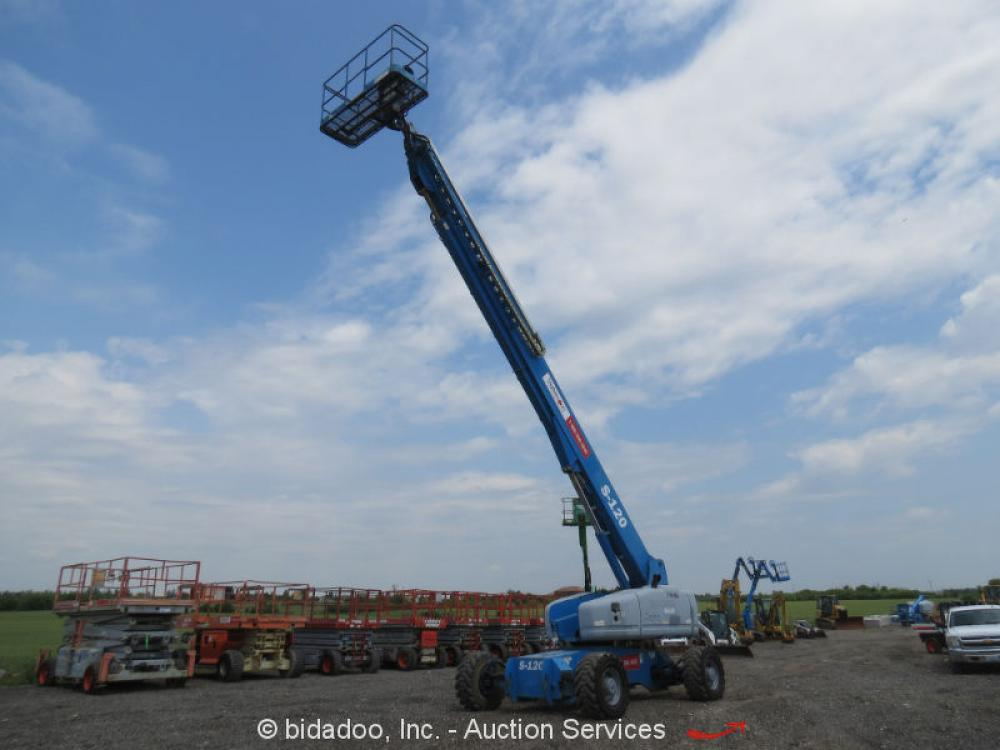 Detail photo of 2001 Genie S-120 from Construction Equipment Guide