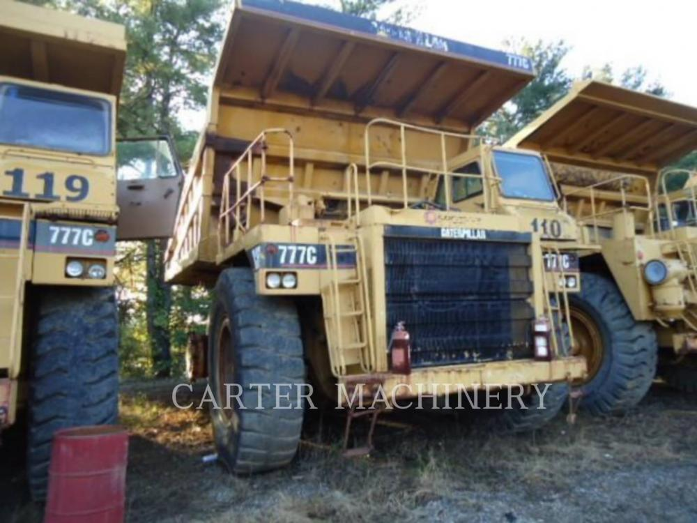 Detail photo of 1996 Caterpillar 777C from Construction Equipment Guide