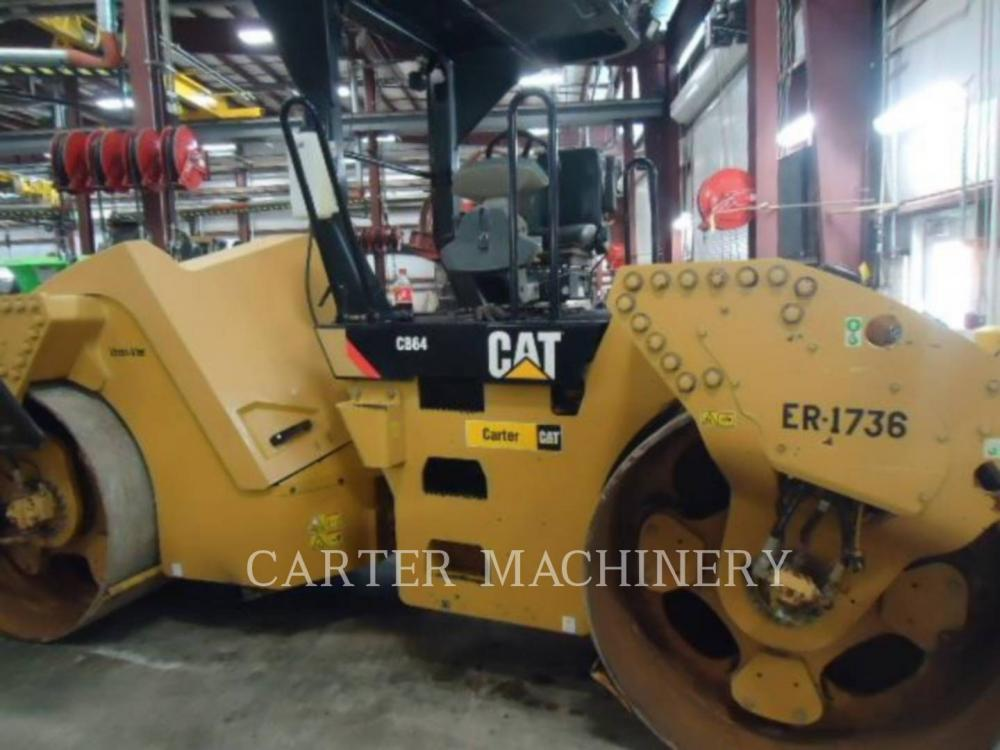 Detail photo of 2014 Caterpillar CB64 from Construction Equipment Guide