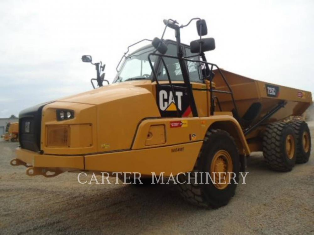 Detail photo of 2018 Caterpillar 725C2 from Construction Equipment Guide