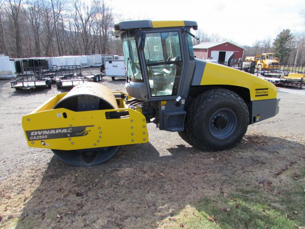 Detail photo of 2014 Dynapac CA2500D from Construction Equipment Guide