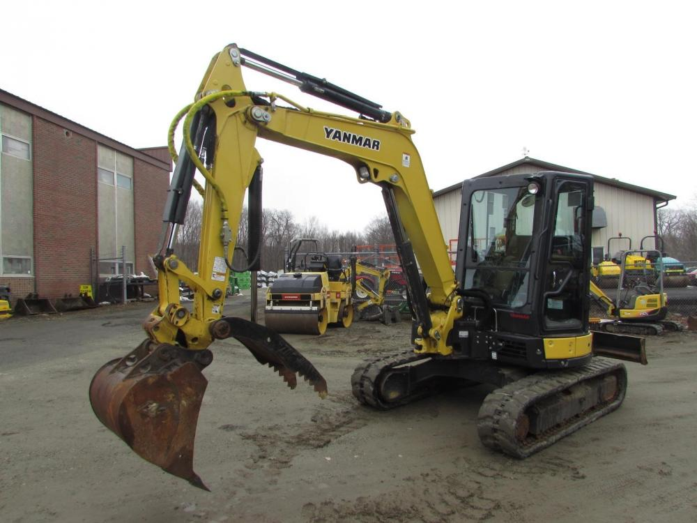 Detail photo of 2015 Yanmar VIO45-6A from Construction Equipment Guide