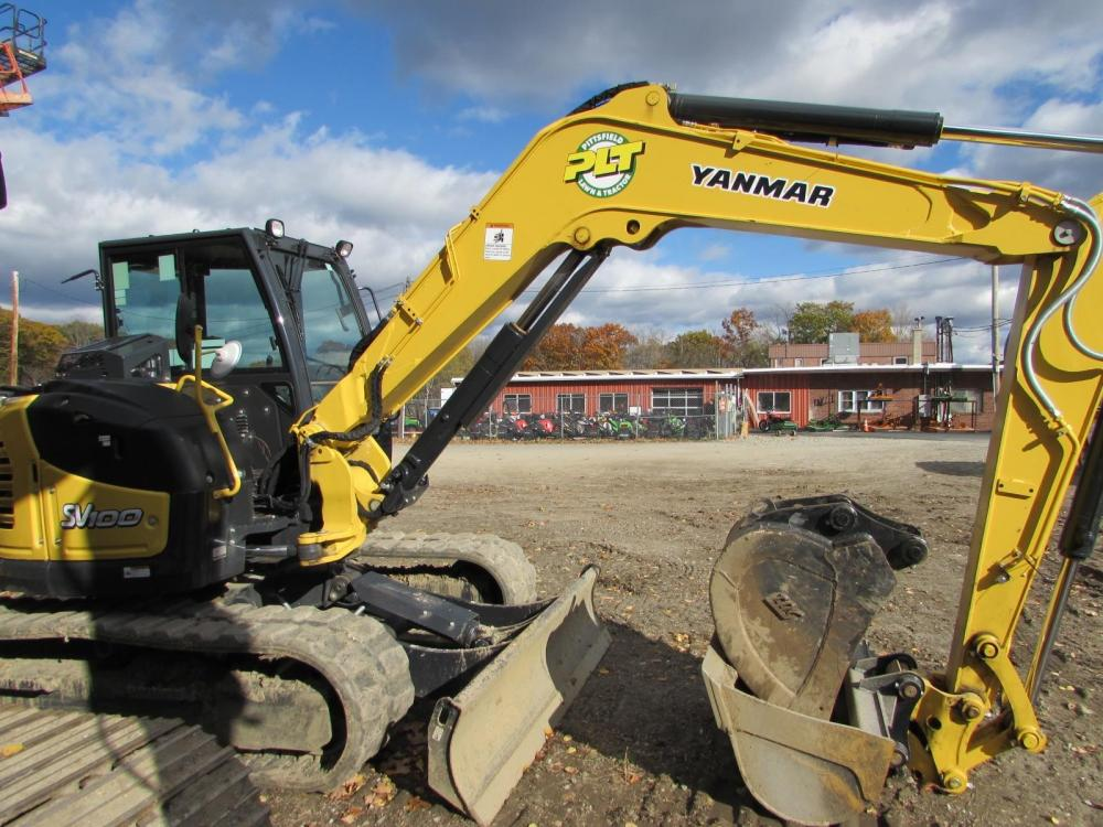 Detail photo of 2015 Yanmar SV100-2A from Construction Equipment Guide