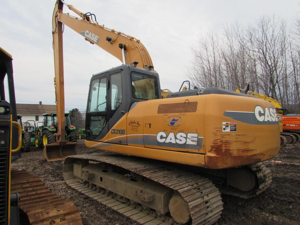 Detail photo of 2011 Case CX210B from Construction Equipment Guide
