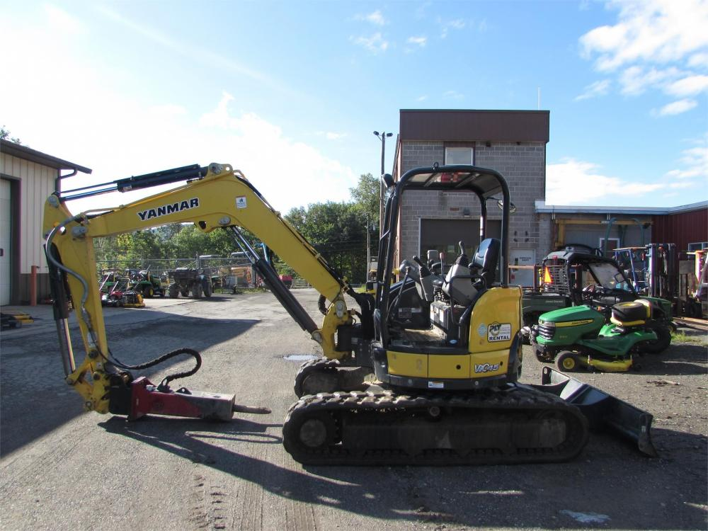 Detail photo of 2016 Yanmar VIO45-6A from Construction Equipment Guide