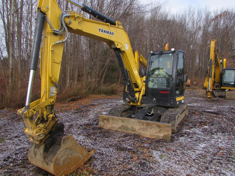 Detail photo of 2016 Yanmar VIO80-1 from Construction Equipment Guide