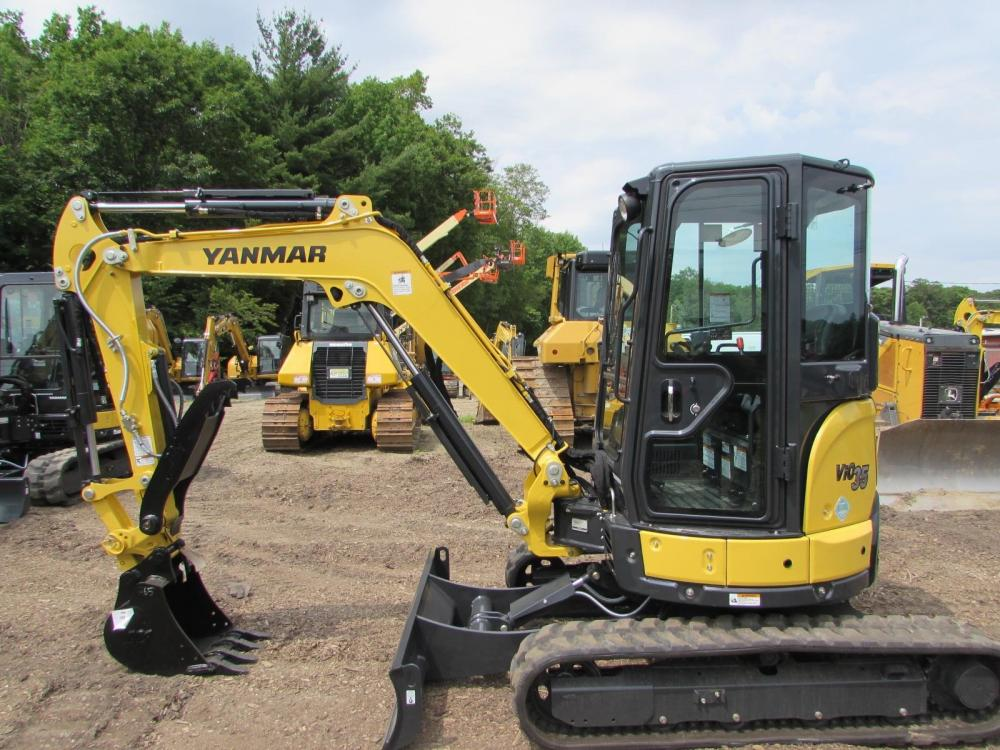 Detail photo of 2017 Yanmar VIO35-6A from Construction Equipment Guide