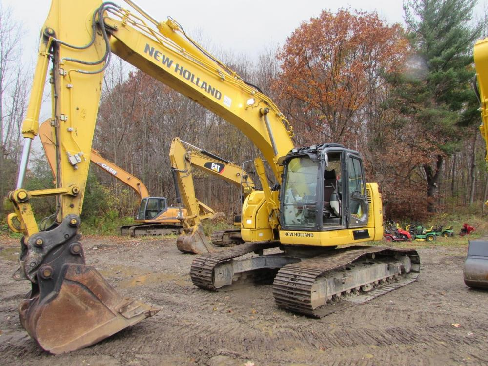 Detail photo of 2013 New Holland E230CSR from Construction Equipment Guide