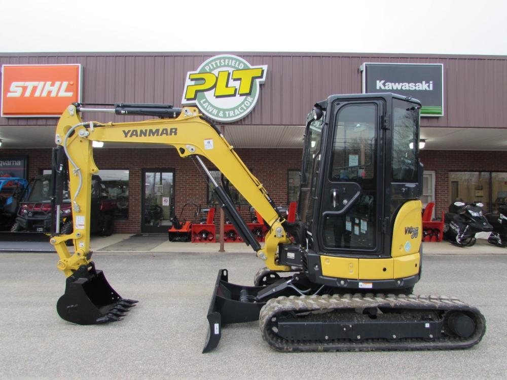 Detail photo of 2020 Yanmar VIO35-6A from Construction Equipment Guide