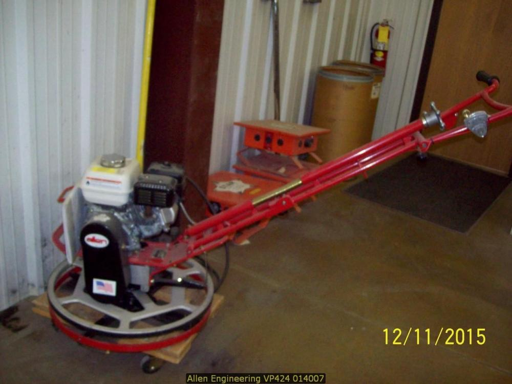 Detail photo of 2014 Allen Engineering VP424 EDGER from Construction Equipment Guide