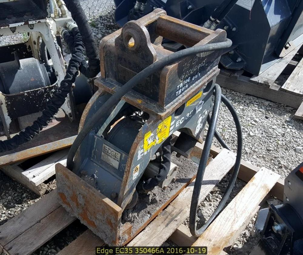 Detail photo of  Edge Manufacturing EC35 from Construction Equipment Guide