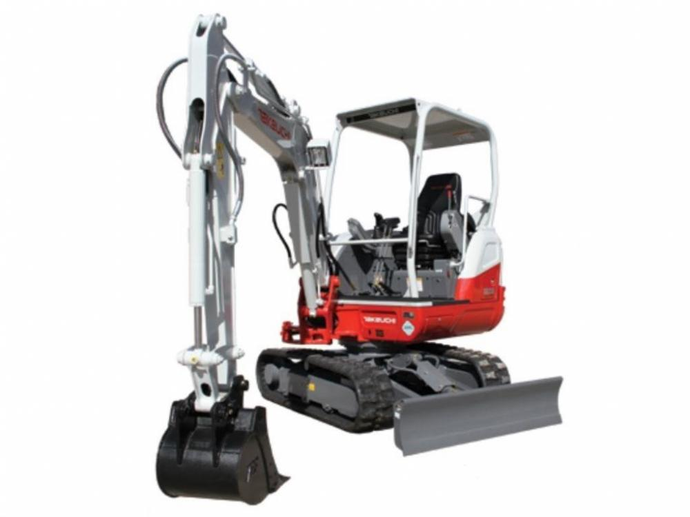 Detail photo of 2017 Takeuchi TB230 from Construction Equipment Guide