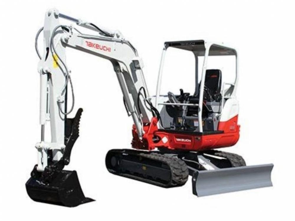 Detail photo of 2016 Takeuchi TB240 from Construction Equipment Guide