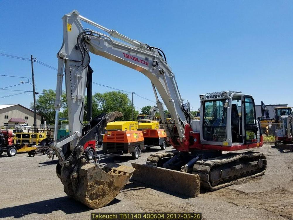 Detail photo of 2016 Takeuchi TB1140 from Construction Equipment Guide